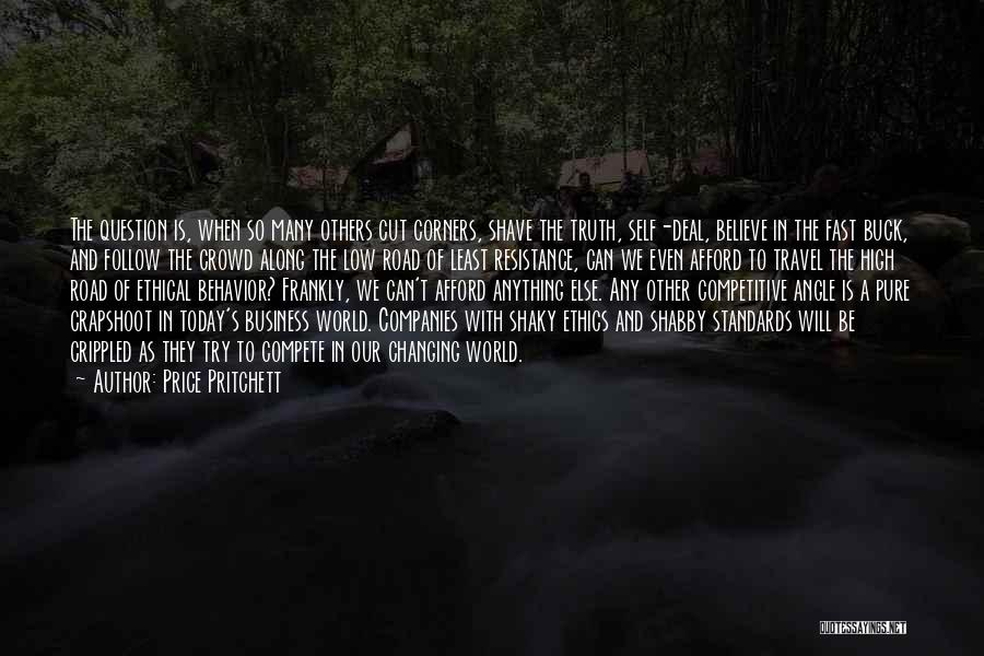 High Road Quotes By Price Pritchett