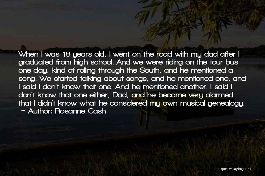 High Road Quotes By Rosanne Cash