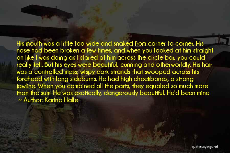 High Times Quotes By Karina Halle