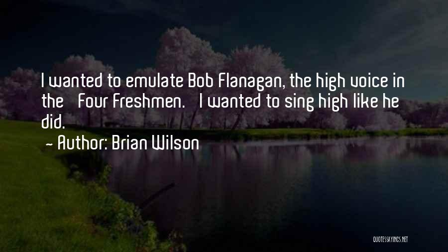 High Voice Quotes By Brian Wilson