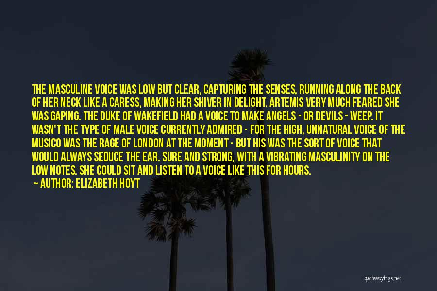 High Voice Quotes By Elizabeth Hoyt