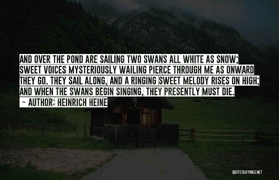 High Voice Quotes By Heinrich Heine