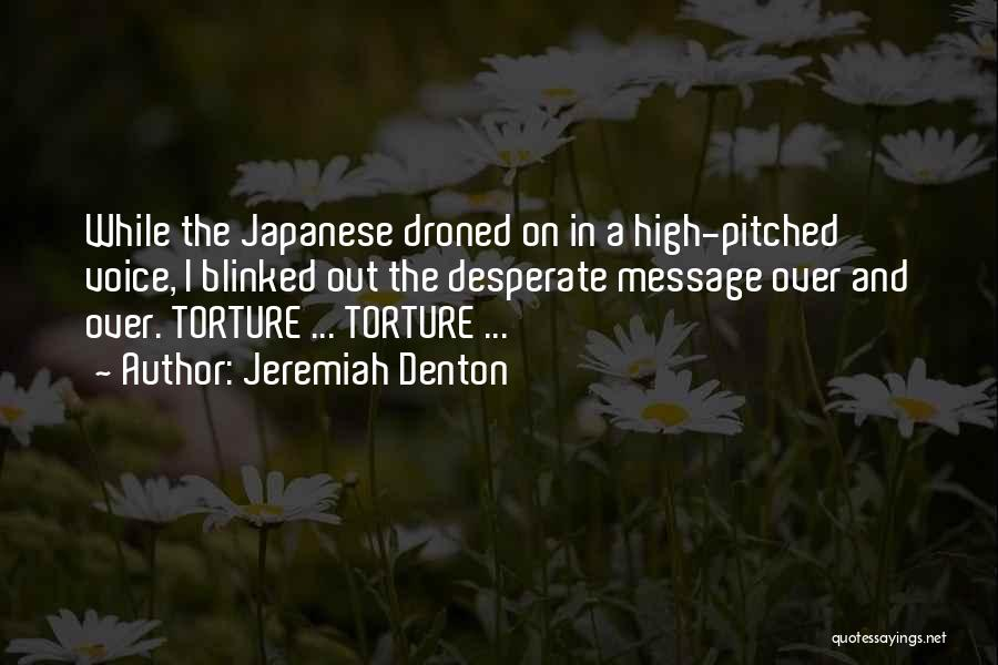 High Voice Quotes By Jeremiah Denton