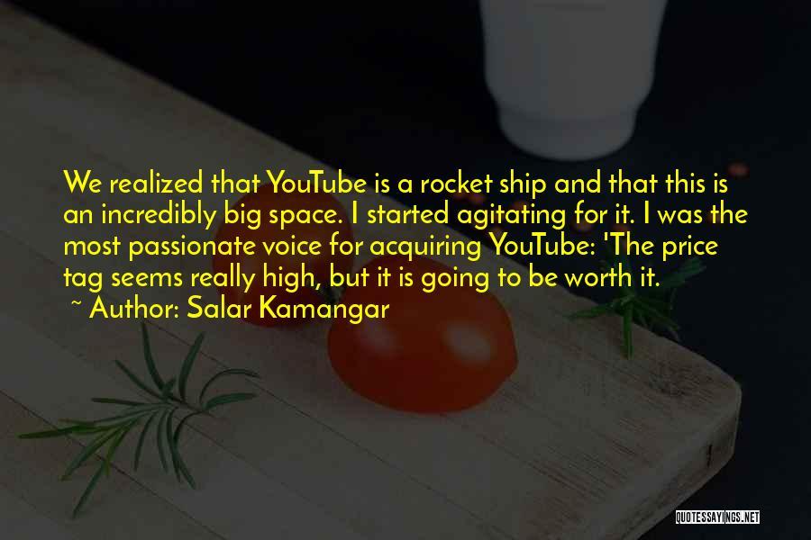 High Voice Quotes By Salar Kamangar