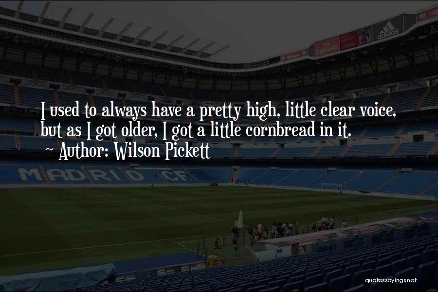 High Voice Quotes By Wilson Pickett