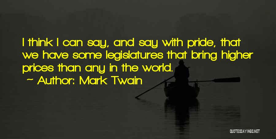 Higher Thinking Quotes By Mark Twain