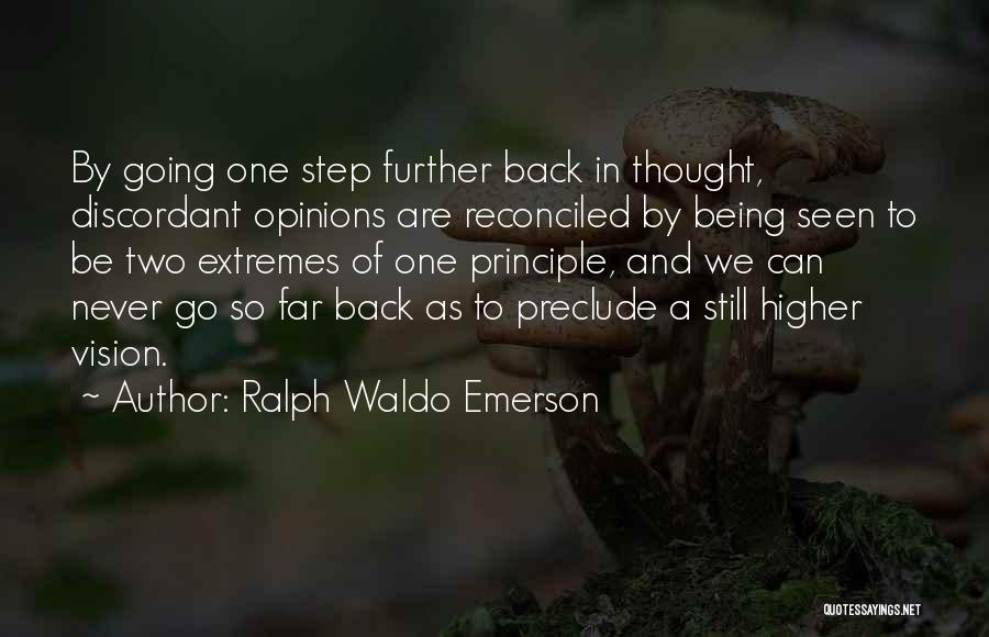 Higher Thinking Quotes By Ralph Waldo Emerson