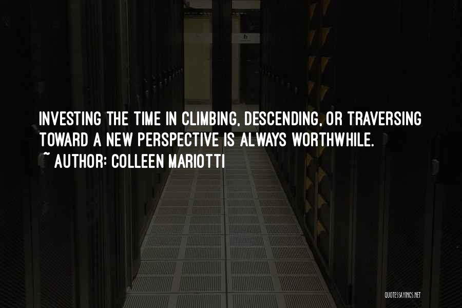Hiking Climbing Quotes By Colleen Mariotti