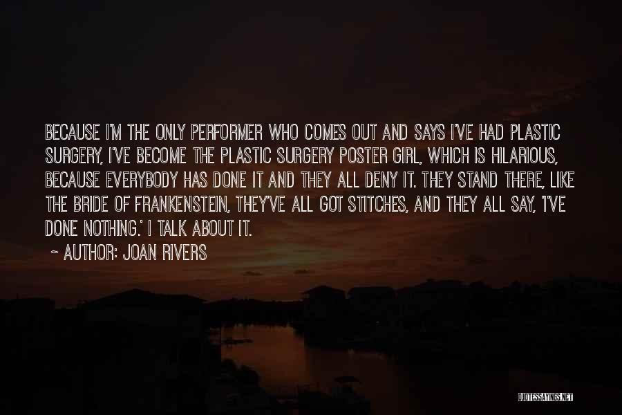 Hilarious Girl Quotes By Joan Rivers