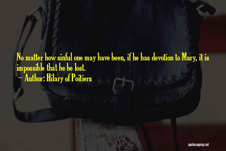 Hilary Of Poitiers Quotes 1741152