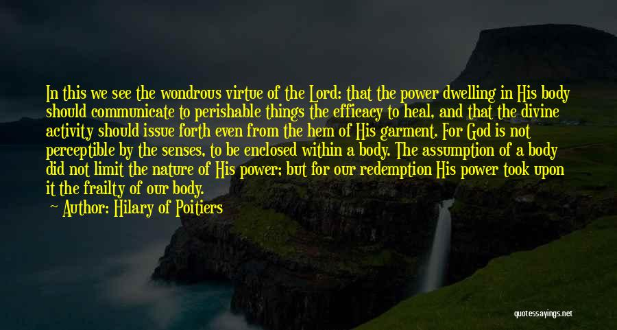 Hilary Of Poitiers Quotes 319206