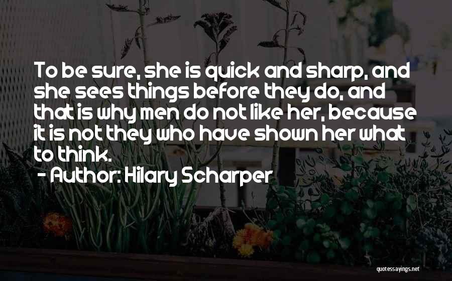 Hilary Scharper Quotes 1678239