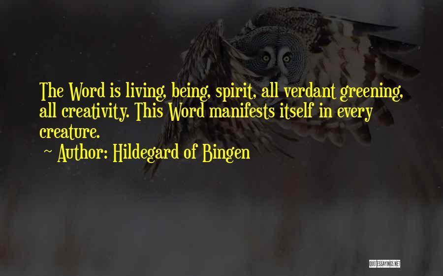 Hildegard Of Bingen Quotes 479163