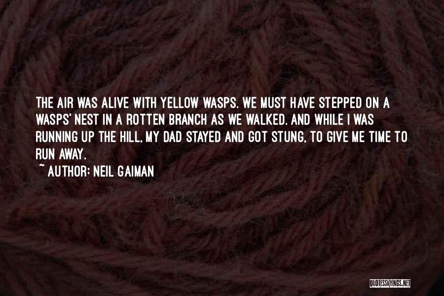 Hill Running Quotes By Neil Gaiman