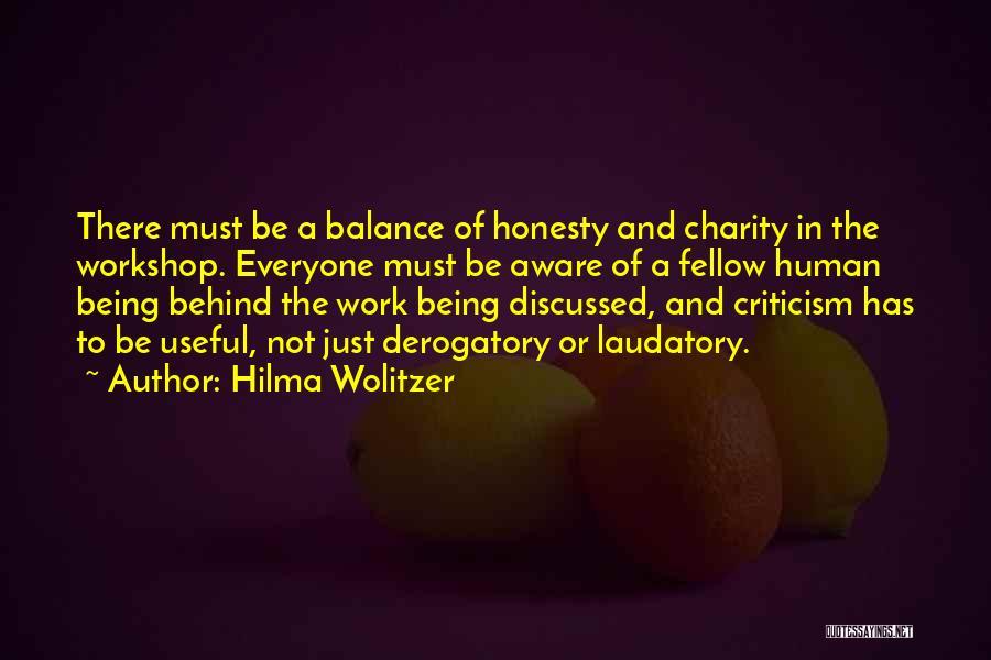 Hilma Wolitzer Quotes 1450120