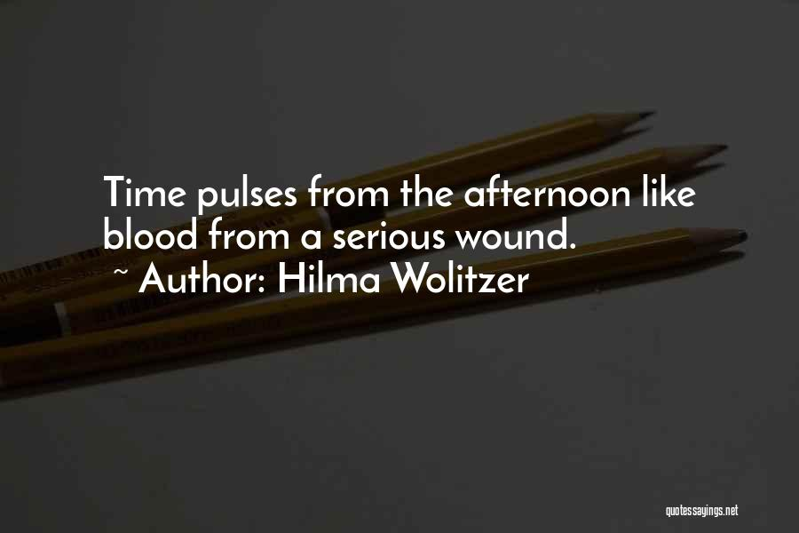 Hilma Wolitzer Quotes 343729