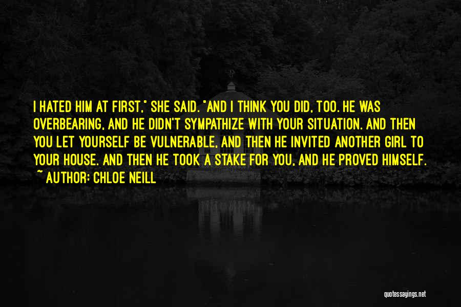 Him And Another Girl Quotes By Chloe Neill
