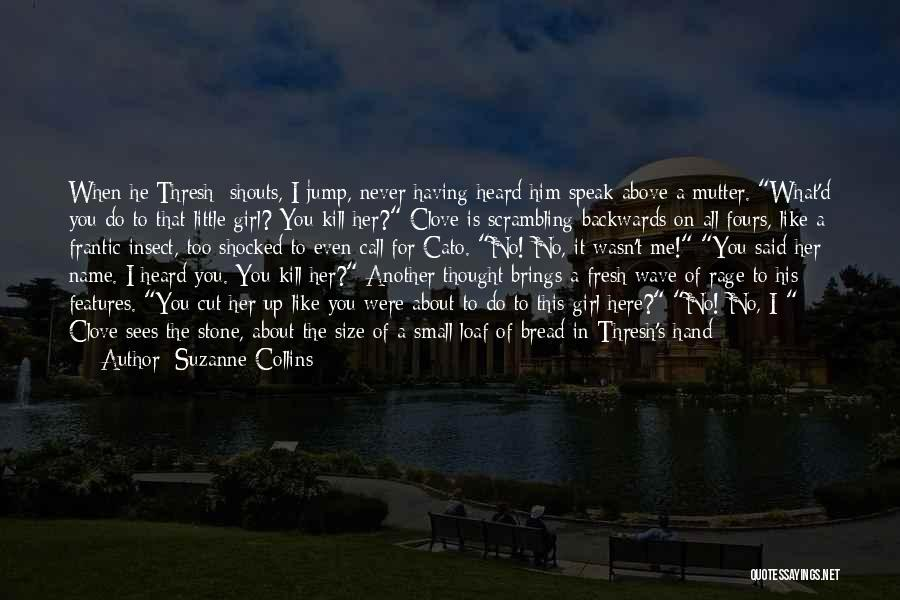 Him And Another Girl Quotes By Suzanne Collins