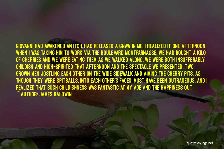Him And Happiness Quotes By James Baldwin