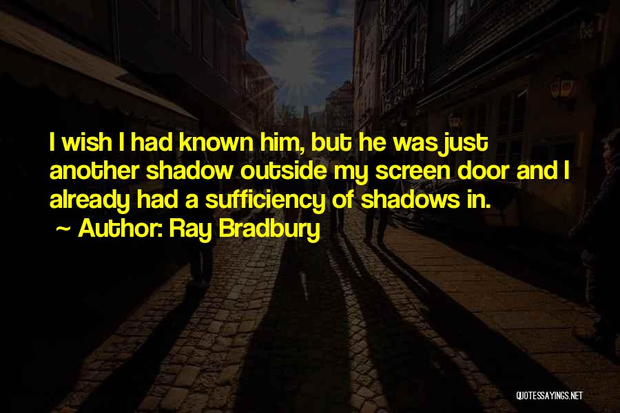 Him And I Quotes By Ray Bradbury