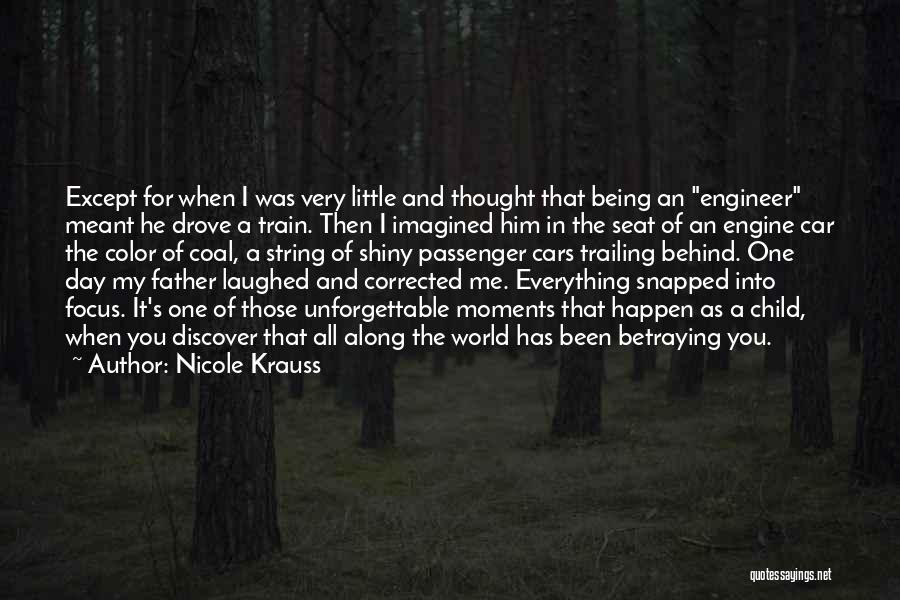 Him Being My Everything Quotes By Nicole Krauss