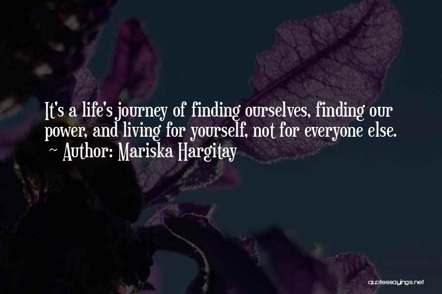 Him Finding Someone Else Quotes By Mariska Hargitay