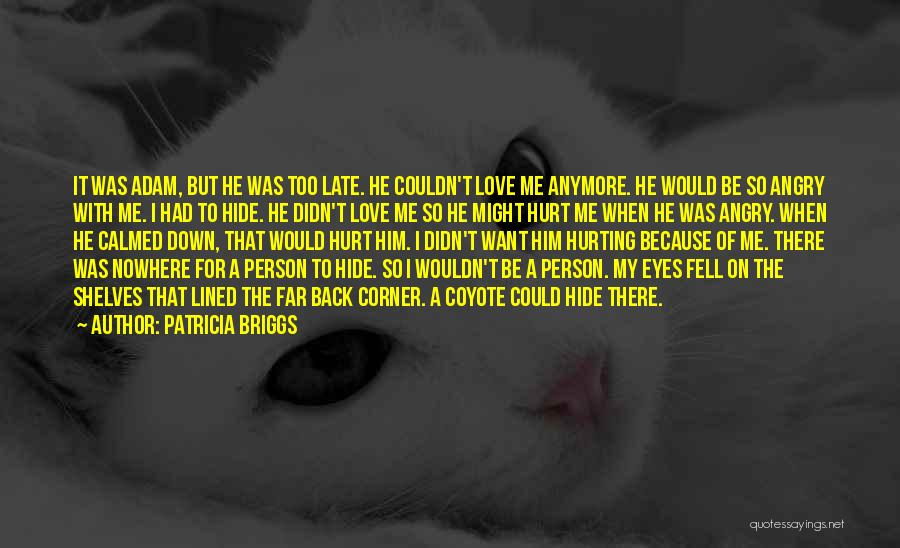 Him Hurting Me Quotes By Patricia Briggs