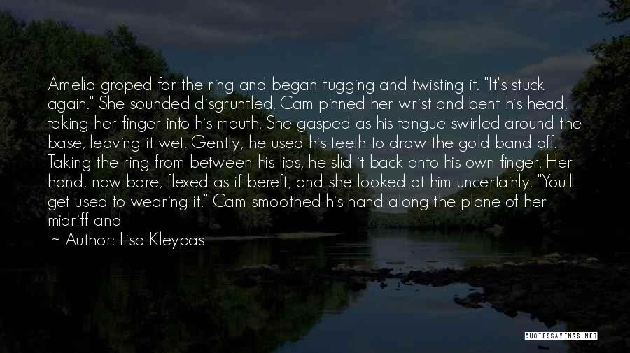 Him Leaving You For Her Quotes By Lisa Kleypas