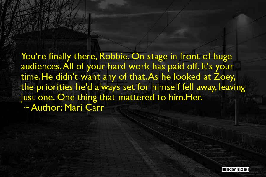 Him Leaving You For Her Quotes By Mari Carr