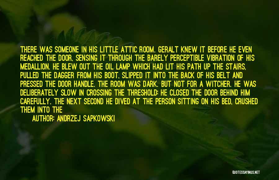 Him Lying Quotes By Andrzej Sapkowski