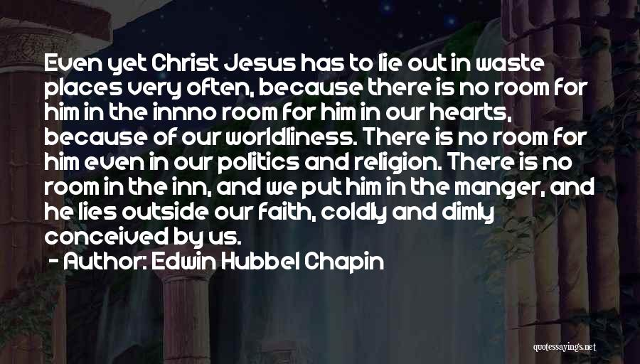 Him Lying Quotes By Edwin Hubbel Chapin