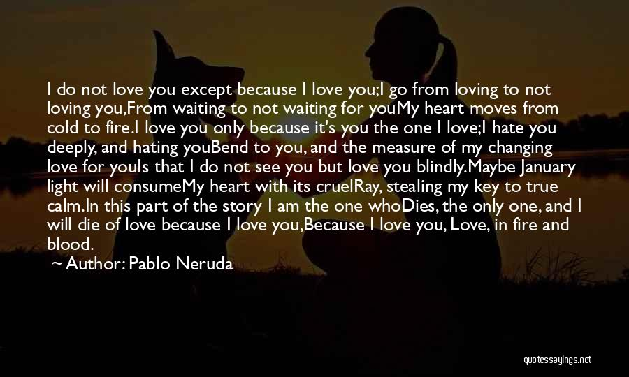 Him Stealing My Heart Quotes By Pablo Neruda