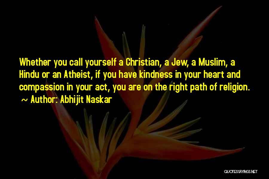 Hindu Muslim Love Quotes By Abhijit Naskar