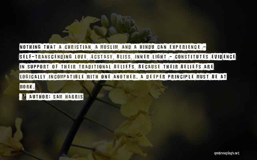 Hindu Muslim Love Quotes By Sam Harris