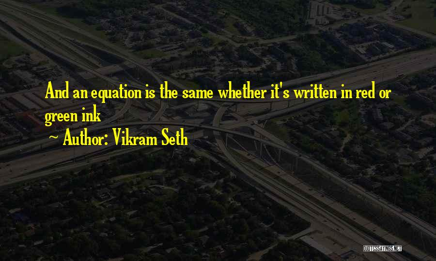Hindu Muslim Love Quotes By Vikram Seth