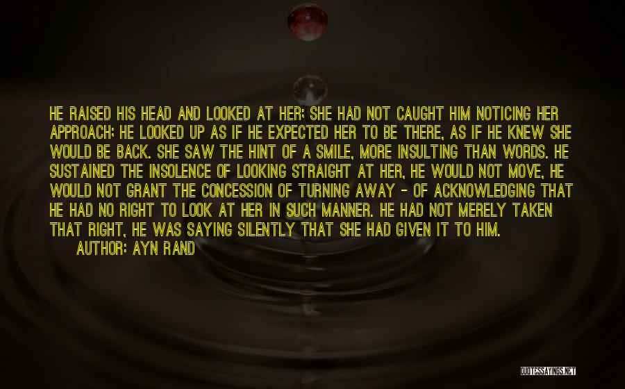 Hint Taken Quotes By Ayn Rand