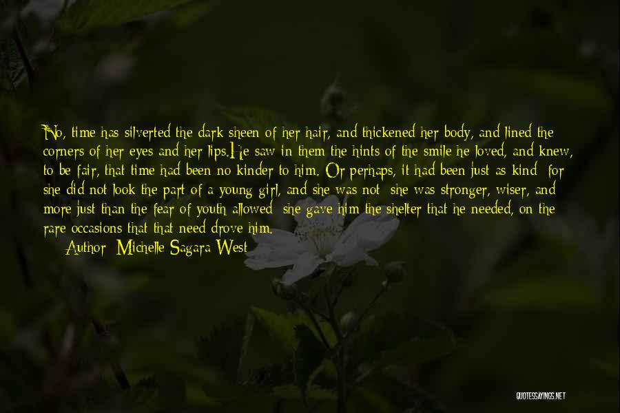 Hints Of Life Quotes By Michelle Sagara West