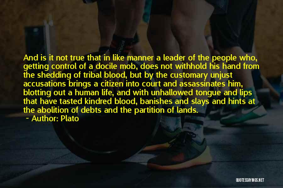 Hints Of Life Quotes By Plato