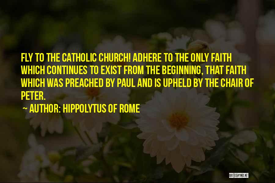 Hippolytus Of Rome Quotes 1314196