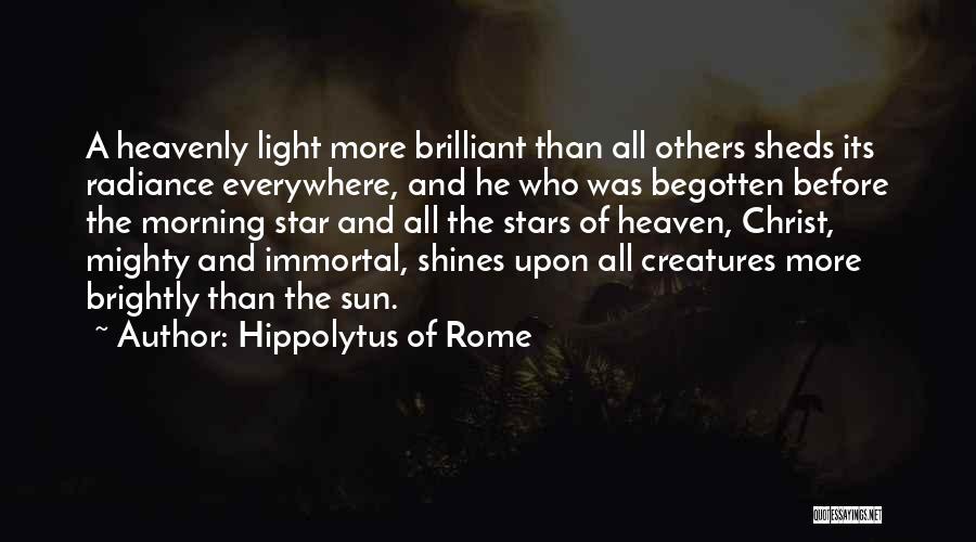 Hippolytus Of Rome Quotes 769109