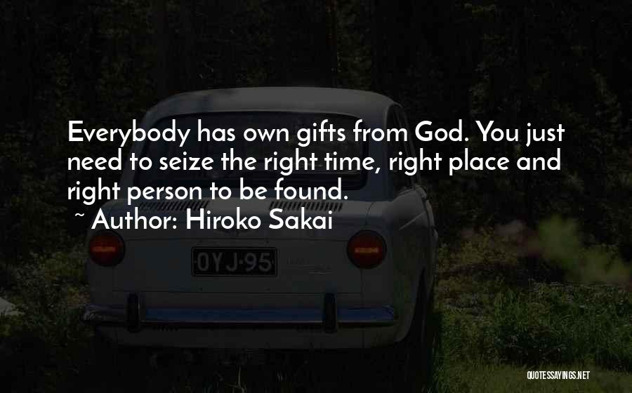 Hiroko Sakai Quotes 1957334