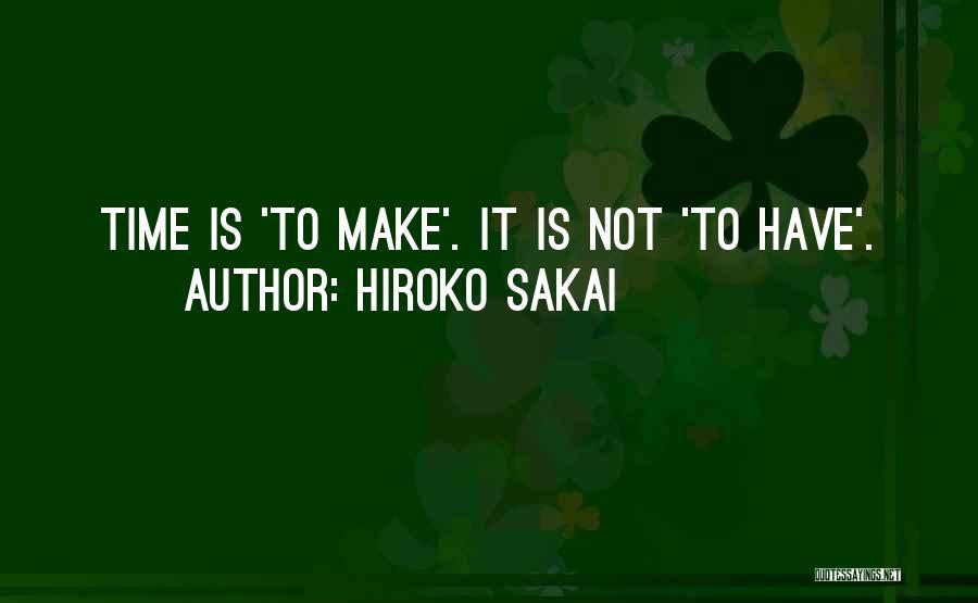 Hiroko Sakai Quotes 2050604