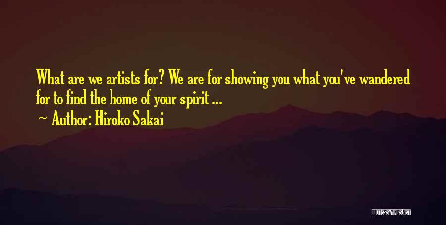 Hiroko Sakai Quotes 2107307