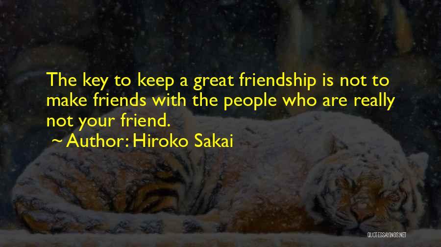 Hiroko Sakai Quotes 774287