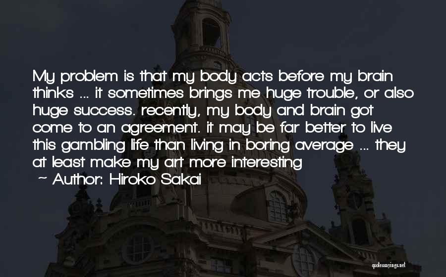 Hiroko Sakai Quotes 90196