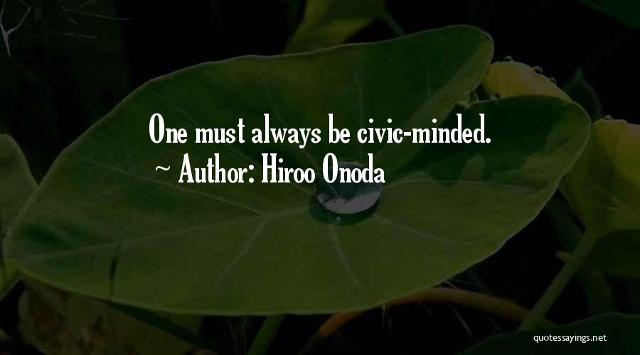 Hiroo Onoda Quotes 1955527