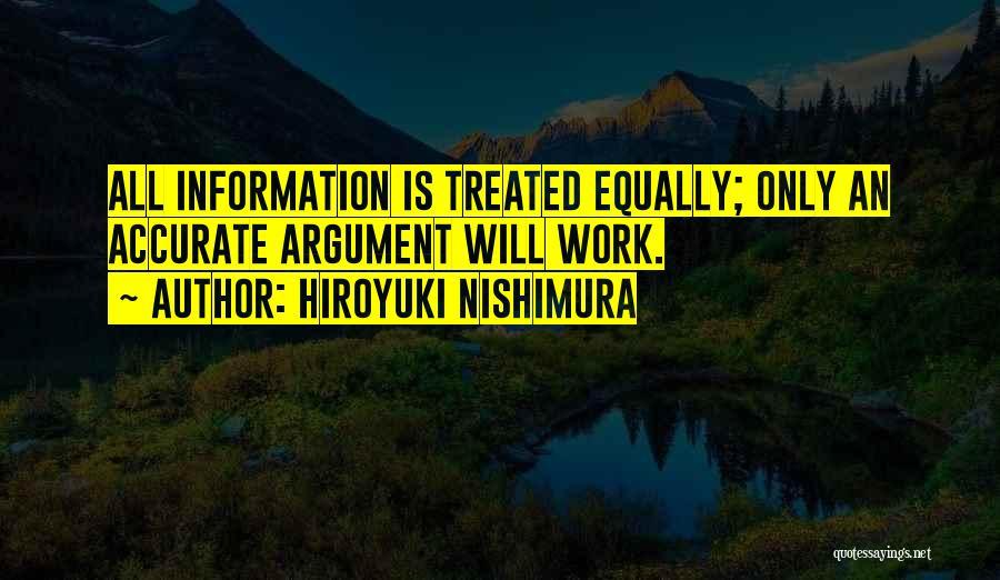Hiroyuki Nishimura Quotes 118130