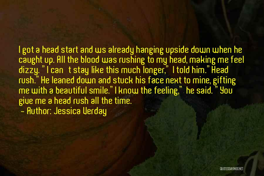 His Beautiful Smile Quotes By Jessica Verday