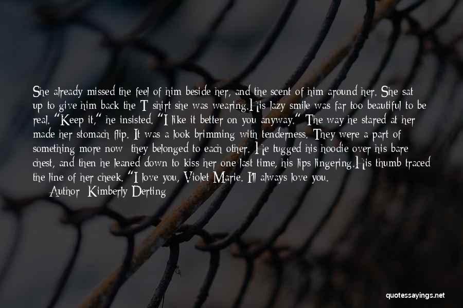 His Beautiful Smile Quotes By Kimberly Derting