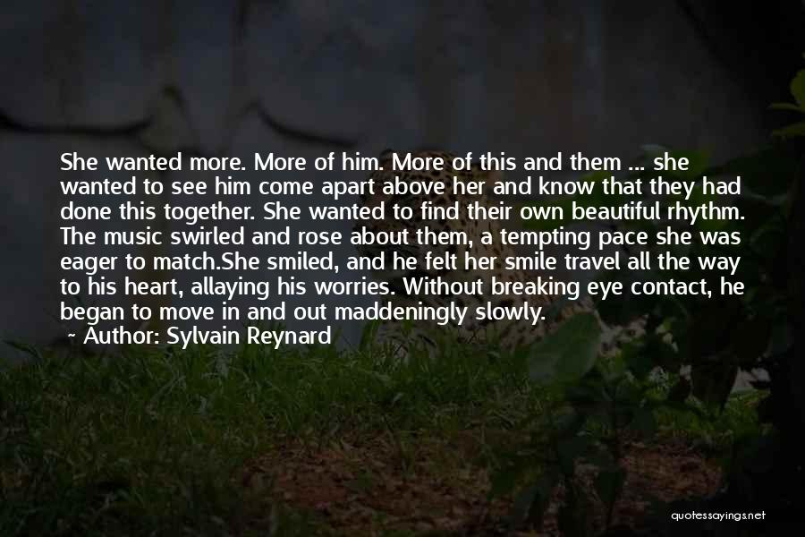 His Beautiful Smile Quotes By Sylvain Reynard